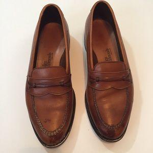 Allen Edmonds Brown Leather Barrington Loafers
